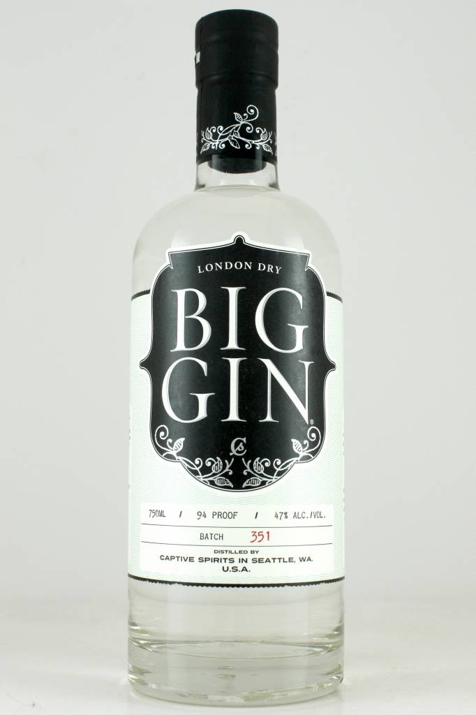 Captive Spirits Big Gin, Seattle