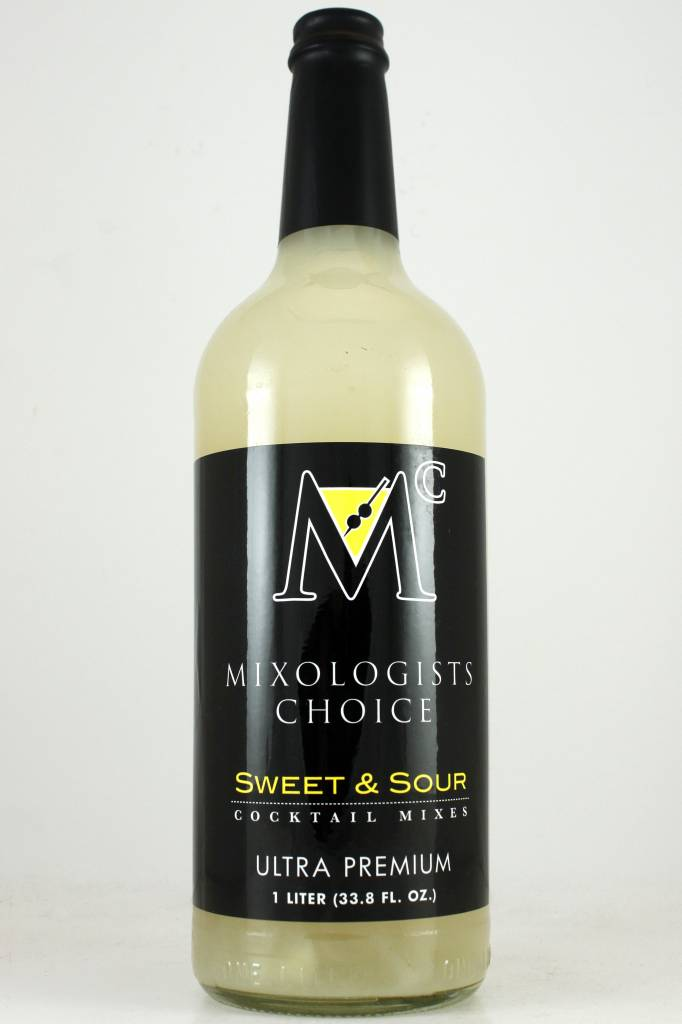 Mixologists Choice Sweet & Sour Mix