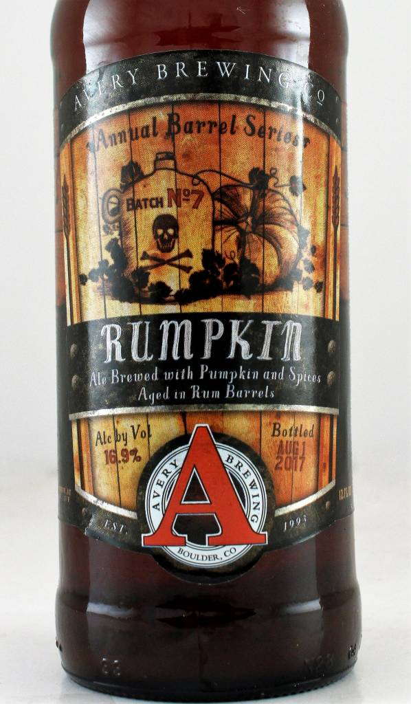 "Avery Brewing ""Rumpkin"" Pumpkin Ale, Colorado"