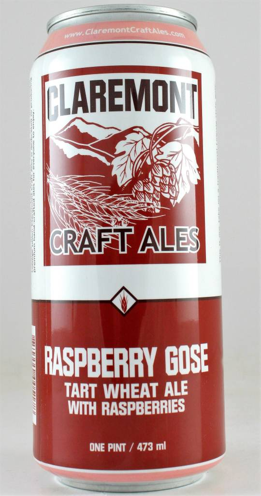 "Claremont ""Raspberry Gose"", California - 16oz can"