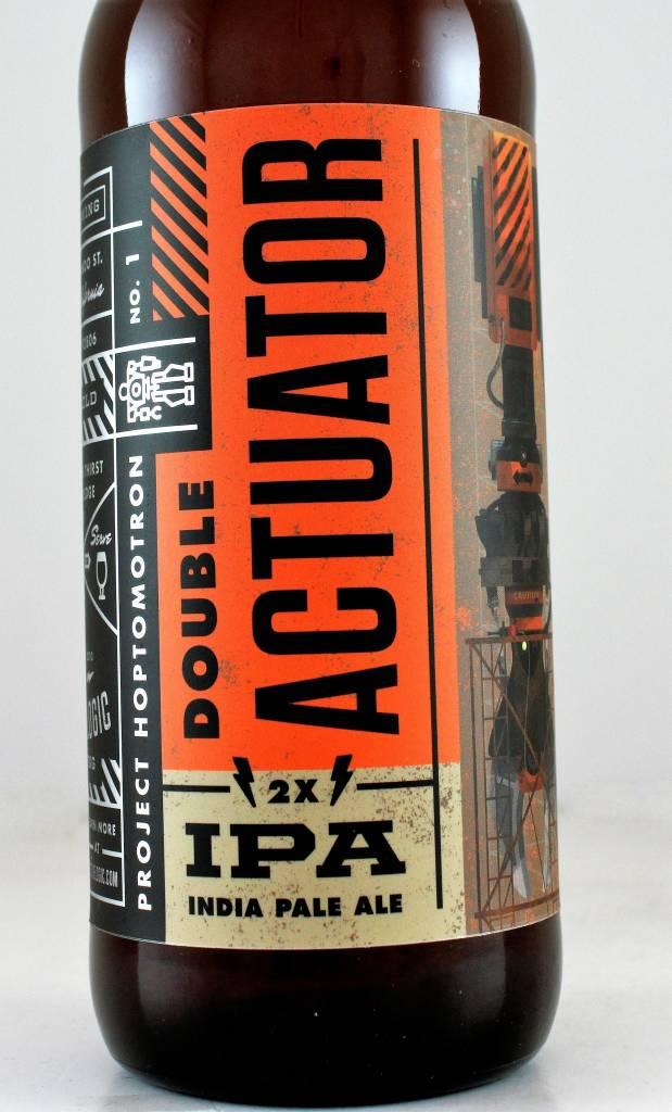 "Bottle Logic Brewing ""Double Actuator"" DIPA, California"