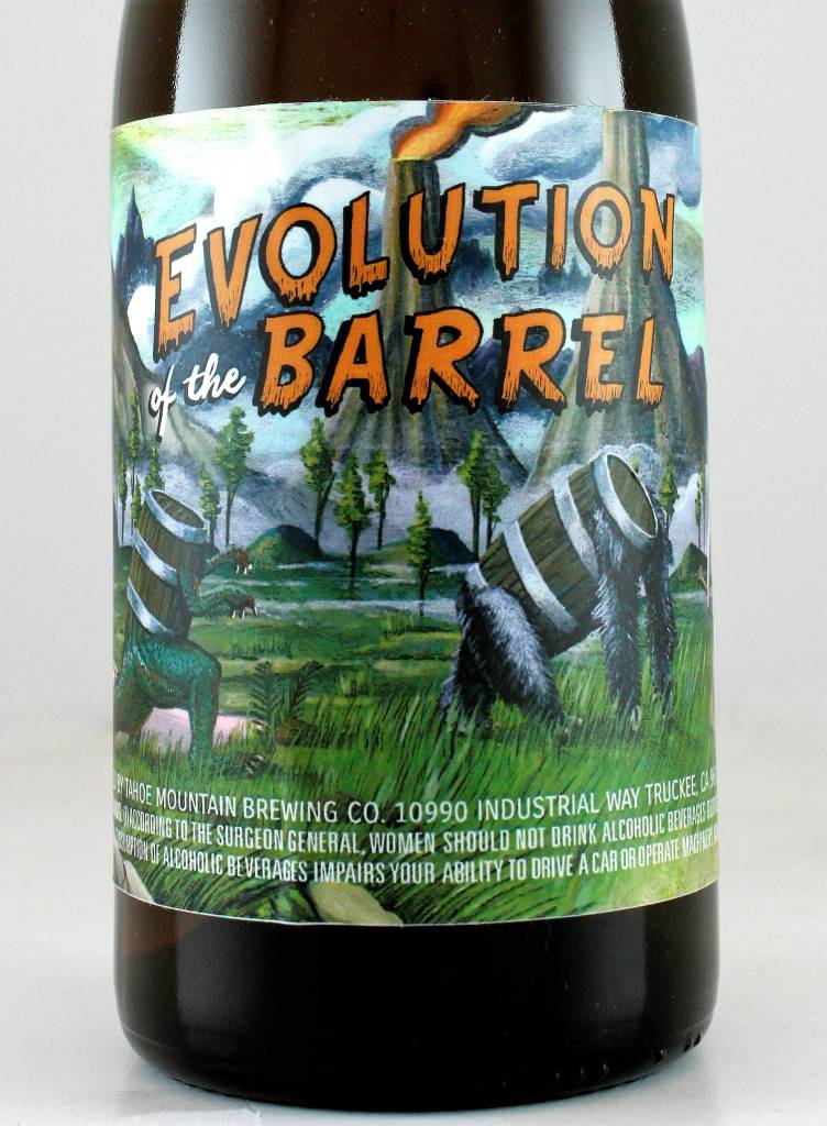"Tahoe Mountain Brewing ""Evolution of the Barrel"" Golden Sour Ale, Califorrnia"