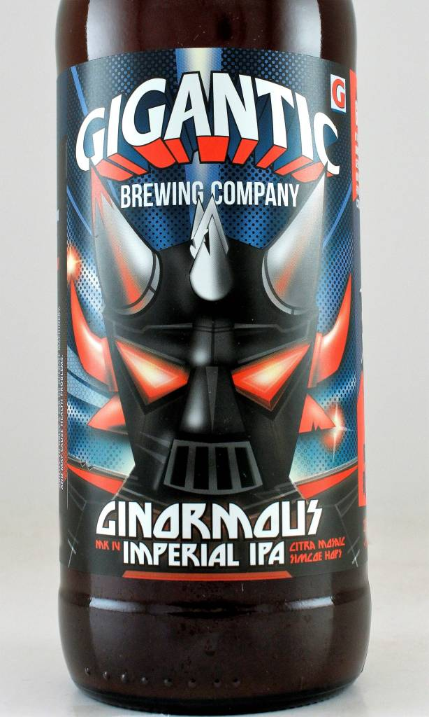 "Gigantic Brewing ""Ginormous"" Imperial IPA, Oregon"