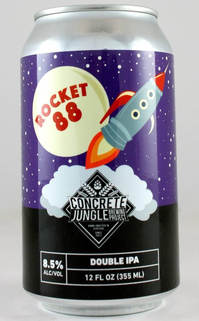 "Concrete Jungle ""Rocket 88"" DIPA, California - 12oz can"