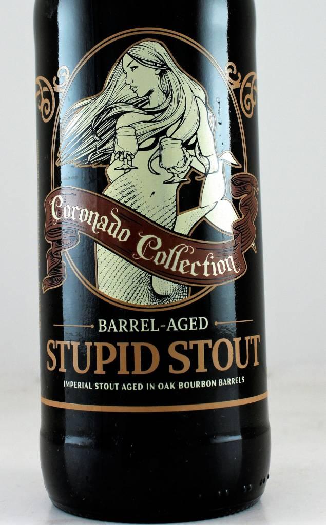 "Coronado Brewing ""Barrel Aged Stupid Stout"", California"