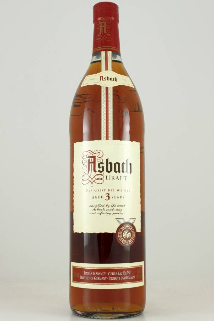 Asbach Uralt Brandy Aged 3 Years, Germany