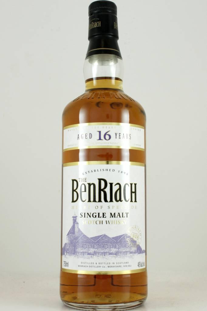 BenRiach Aged 16 Years Speyside Single Malt Scotch Whisky