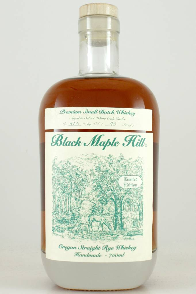 Black Maple Hill Oregon Straight Rye Whiskey, Oregon