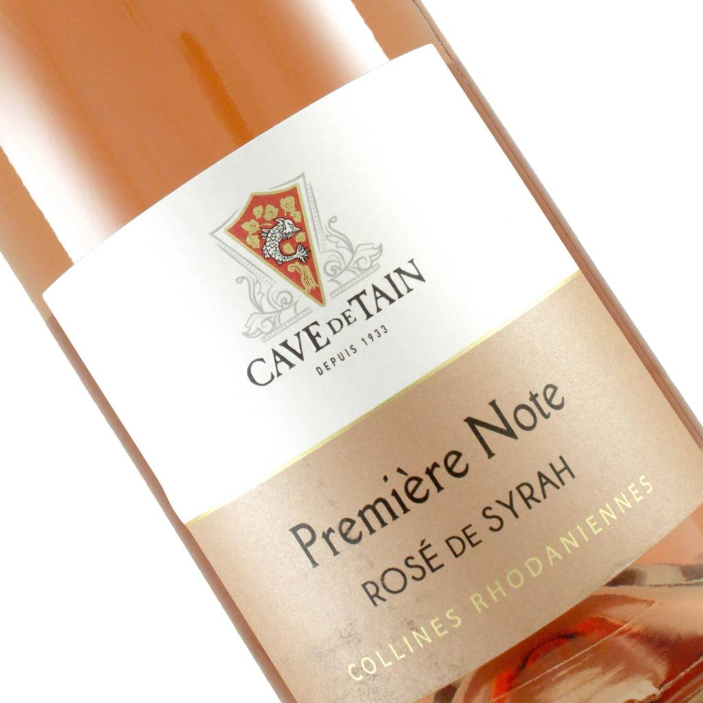 """Cave De Tain 2017 """"Premiere Note"""" Rose of Syrah, Rhone Valley, France"""