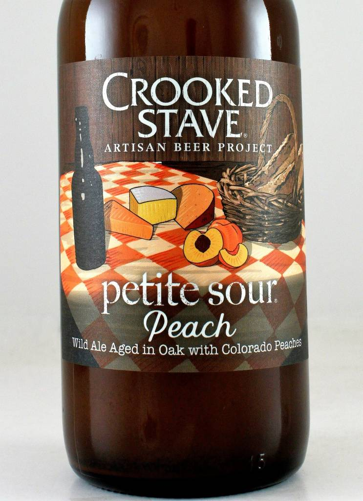 """Crooked Stave """"Petit Sour Peach"""""""