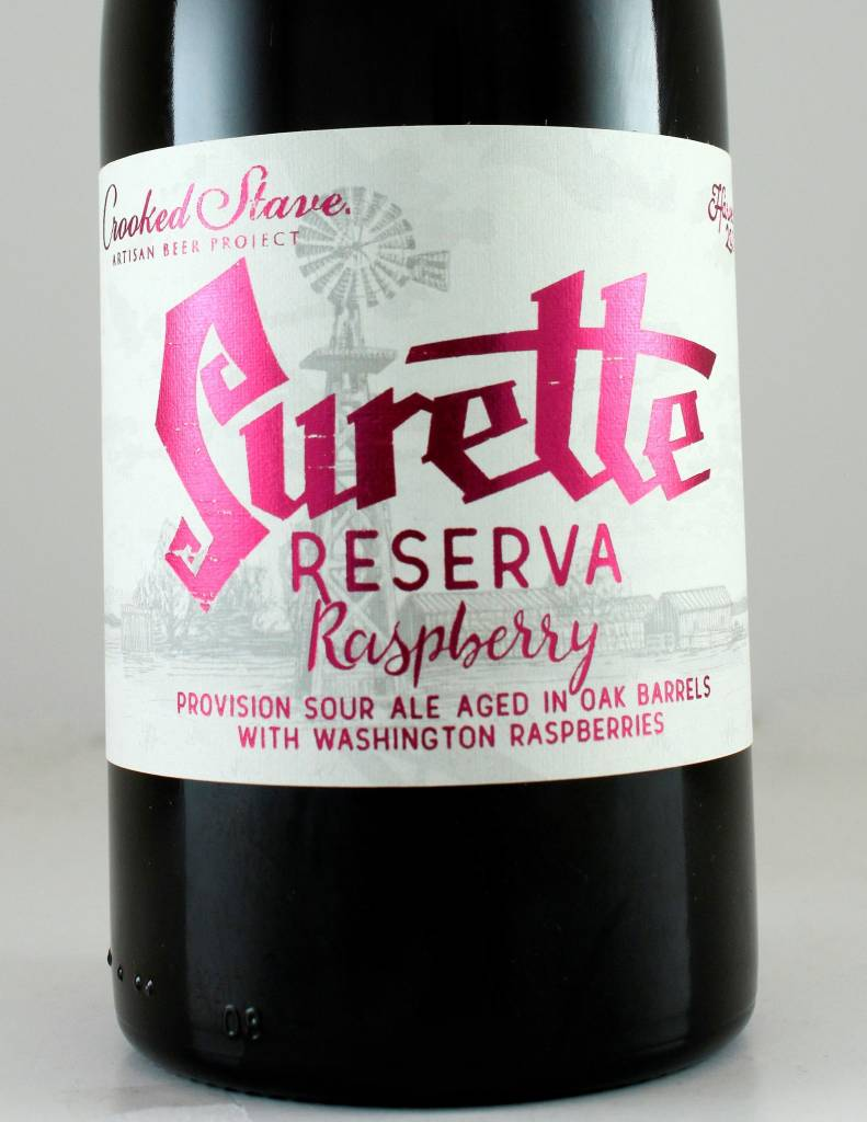 "Crooked Stave ""Surette Reserva Raspberry '16"" Sour"