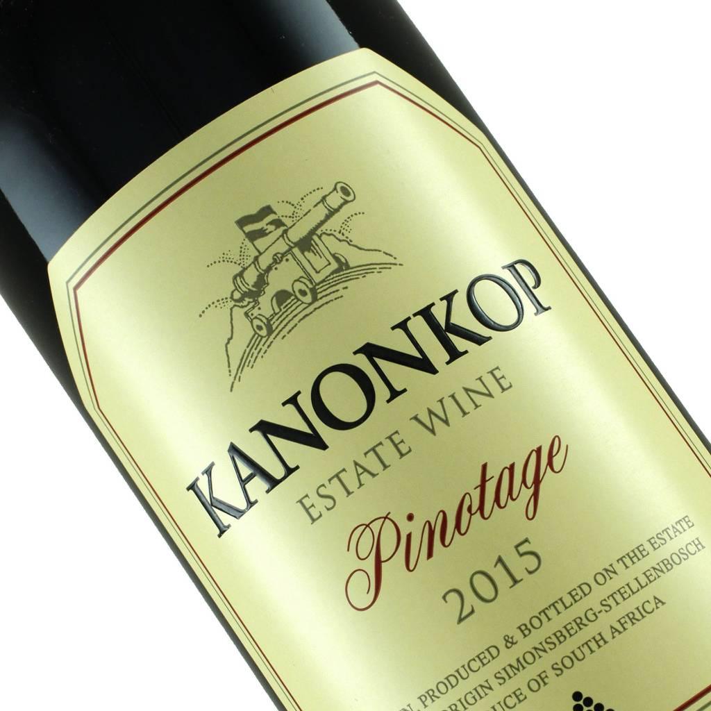 Kanonkop 2015 Estate Pinotage, Simonsberg-Stellenbosch, South Africa