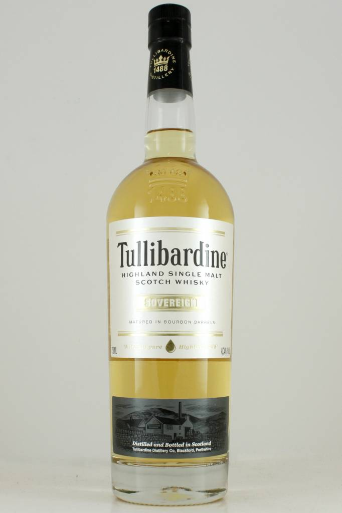 "Tullibardine ""Sovereign"" Highland Single Malt Scotch  Whiskey"