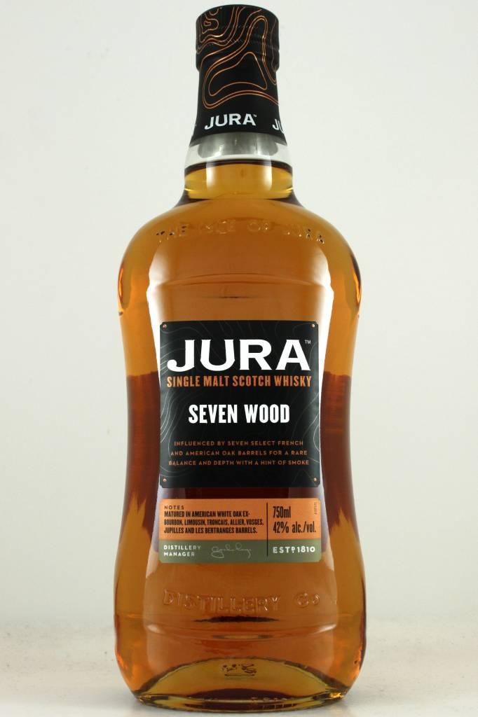 "Jura ""Seven Wood"" Single Malt Scotch Whisky"