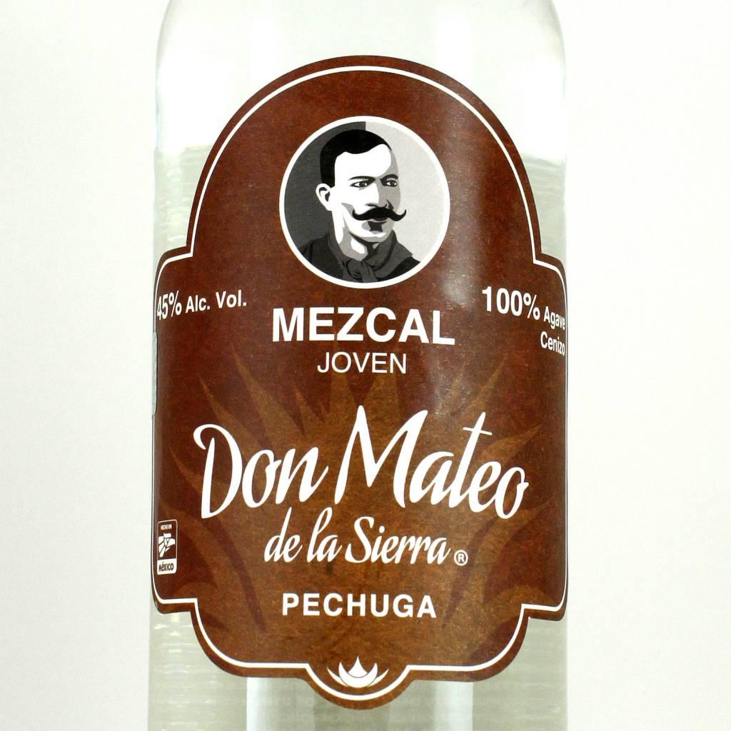 Don Mateo Mezcal Pechuga, Michoacan.