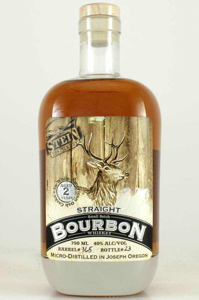 Stein Straight Small Batch Bourbon Whiskey, Oregon