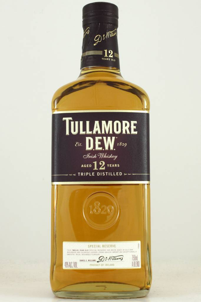 Tullamore D.E.W. Special Reserve Irish Whiskey, Aged 12 Years, Ireland