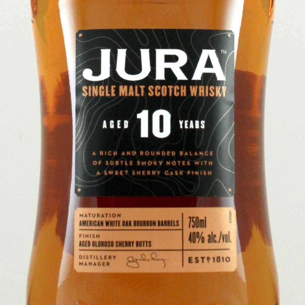 Jura Single Malt Scotch Whisky Aged 10 Years
