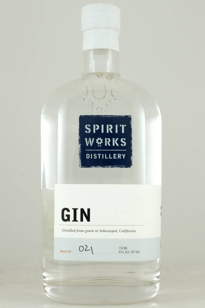 Spirit Works Distillery Gin, California