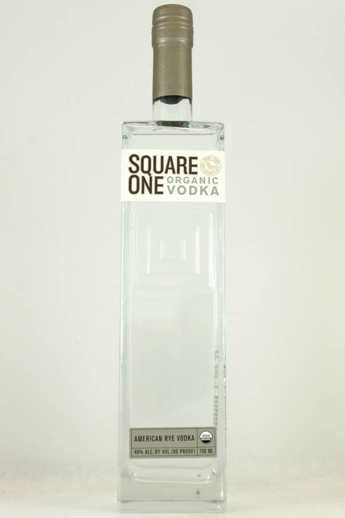 Square One Organic Vodka, Marin County California
