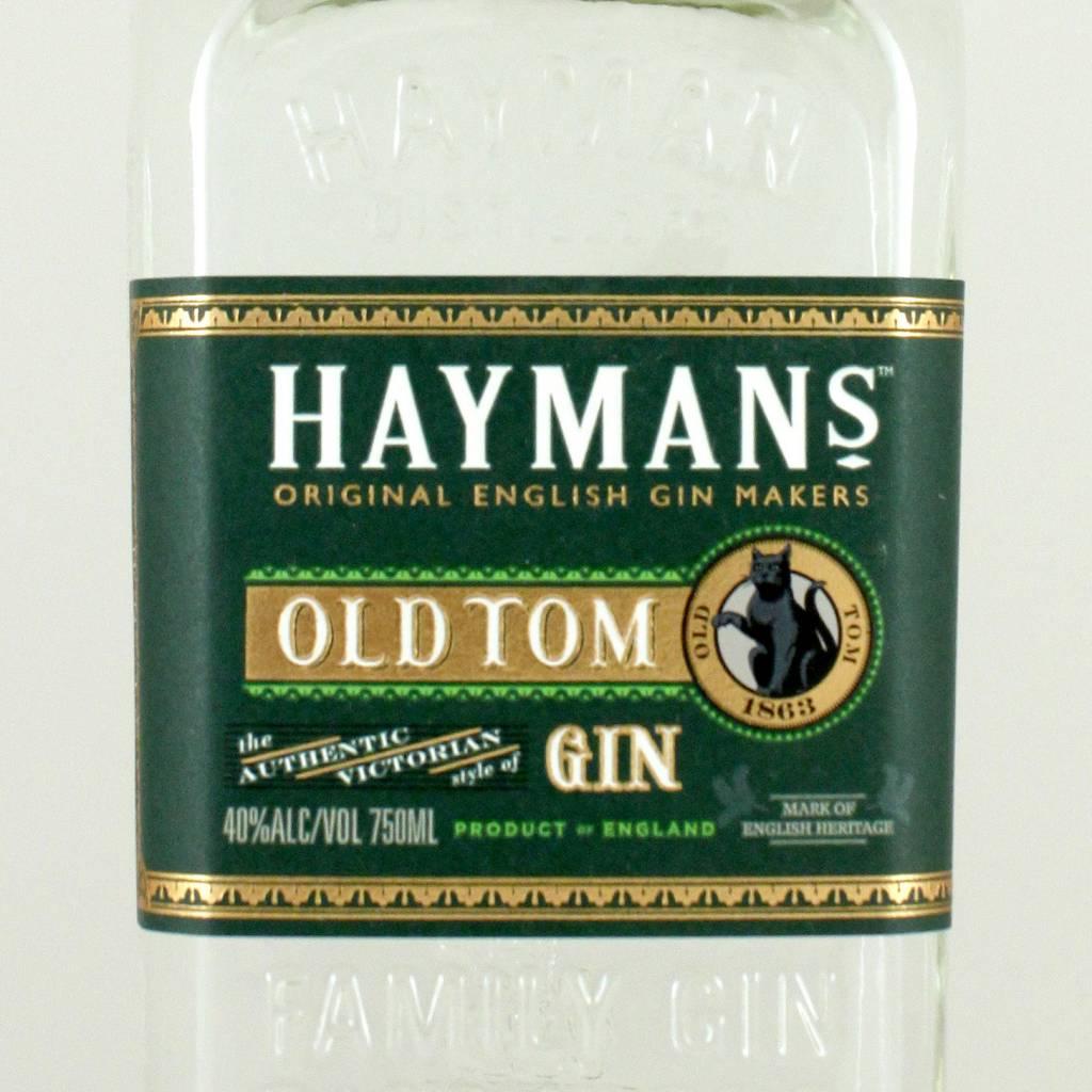 Hayman's Old Tom Gin, London England