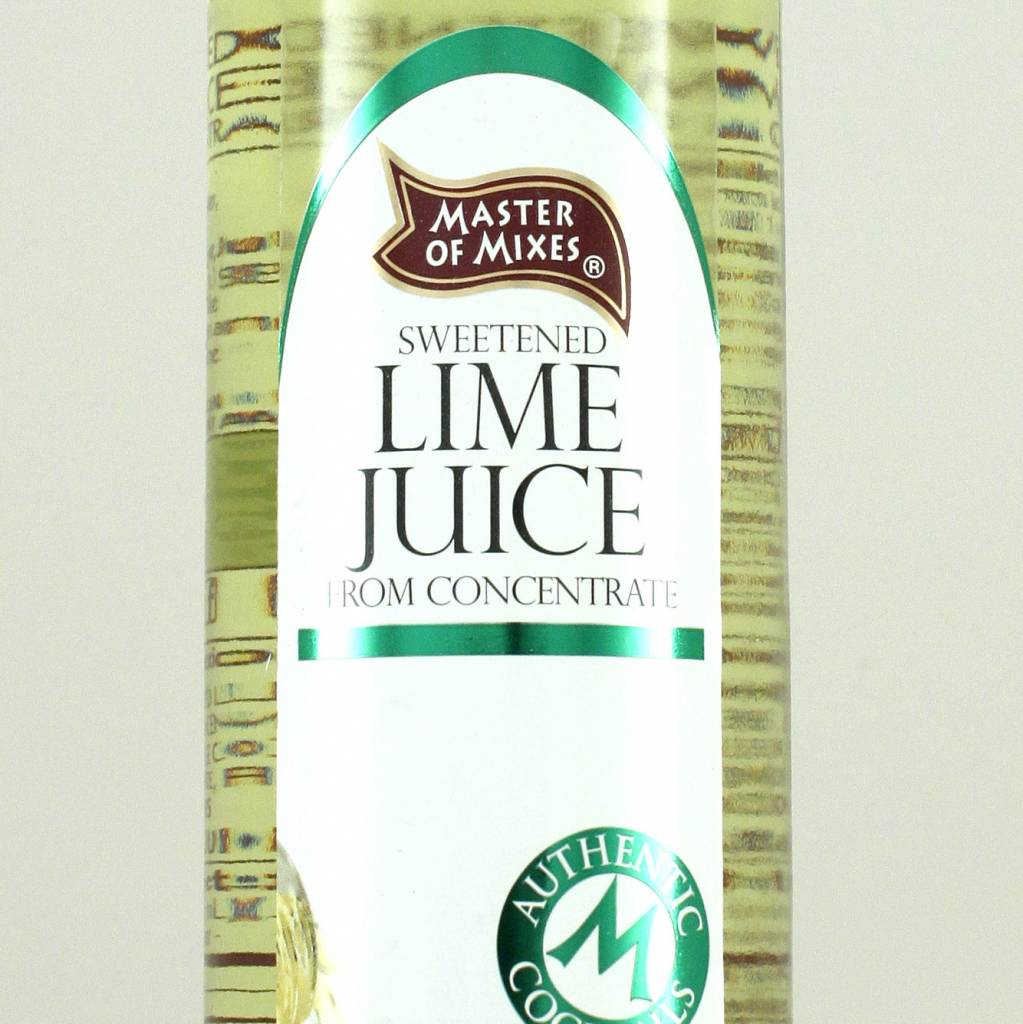 Master of Mixers Cocktail Essentials 100% Lime Juice - 375ml