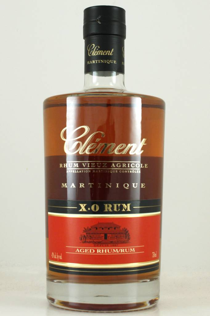 Rhum Clement X.O., Martinique