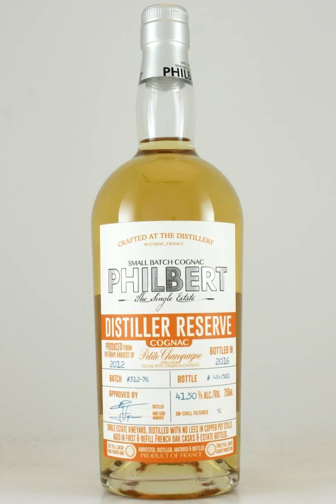 Philbert Petite Champagne Distiller Reserve Small Batch Cognac Vintage 2012