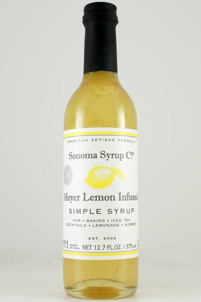 Sonoma Syrup Co. Meyer Lemon  Simple Syrup 12.7 oz.