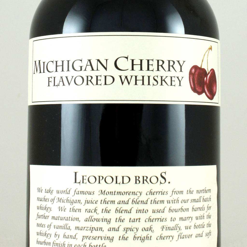 Leopold Bros. Michigan Cherry Whiskey, Colorado