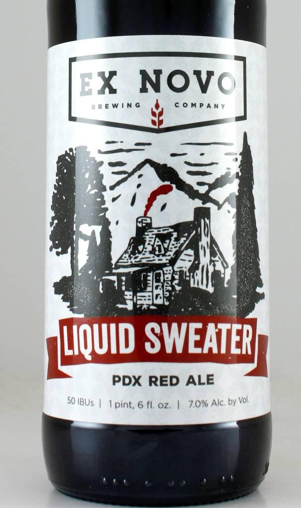 """Ex Novo """"Liquid Sweater"""" Imperial Red"""