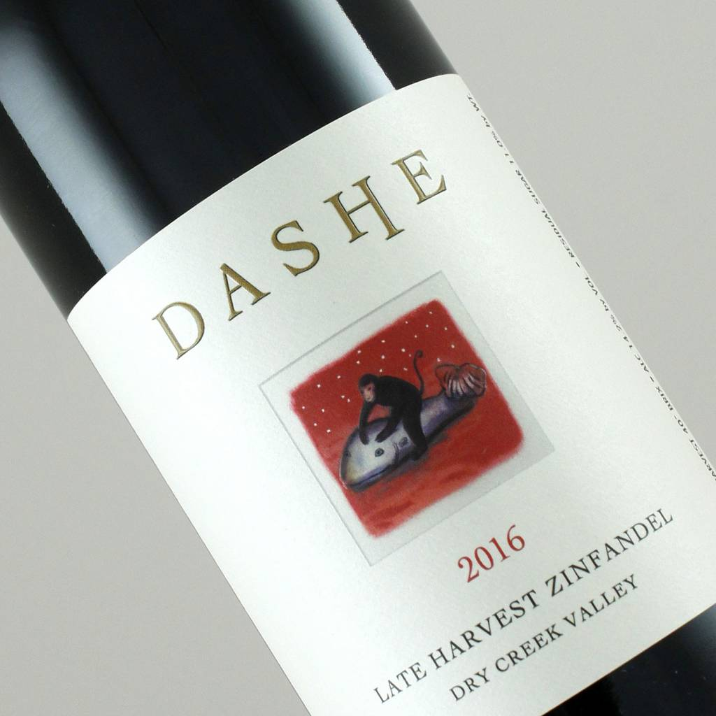 Dashe 2016 Late Harvest Zinfandel Dry Creek Valley Half-Bottle