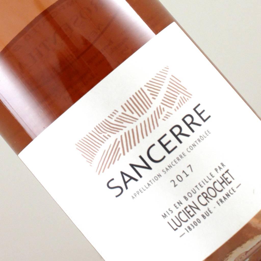Lucien Crochet 2017 Sancerre Rose, Loire Valley, France