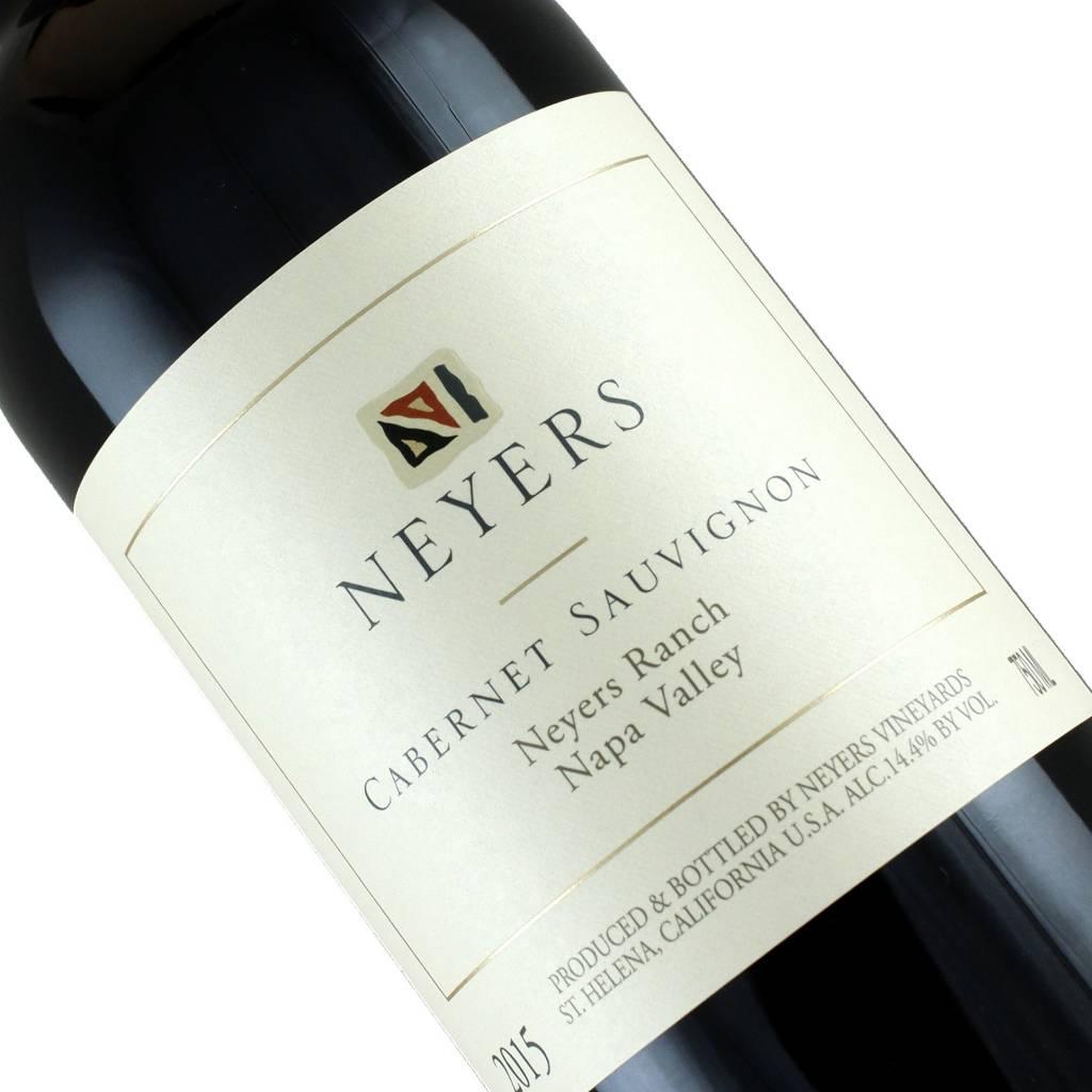 Neyers 2015 Cabernet Sauvignon Neyers Ranch, Napa Valley