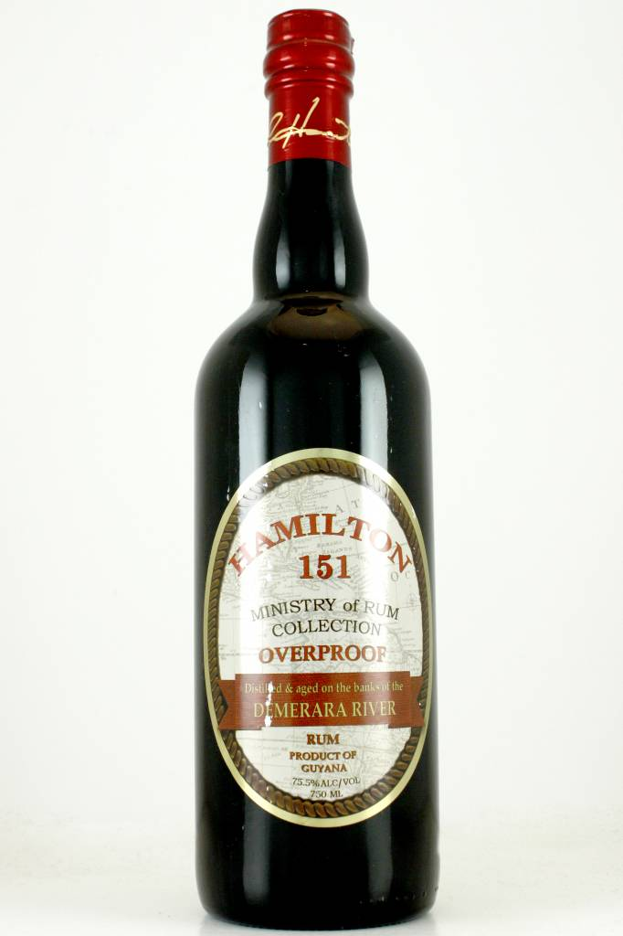 Hamilton Demerara Overproof 151 Rum, Guyana
