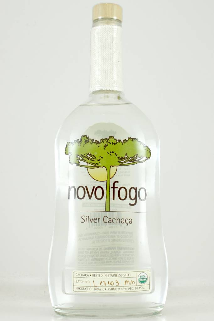 Novo Fogo Silver Cachaca 80 Proof, Brazil