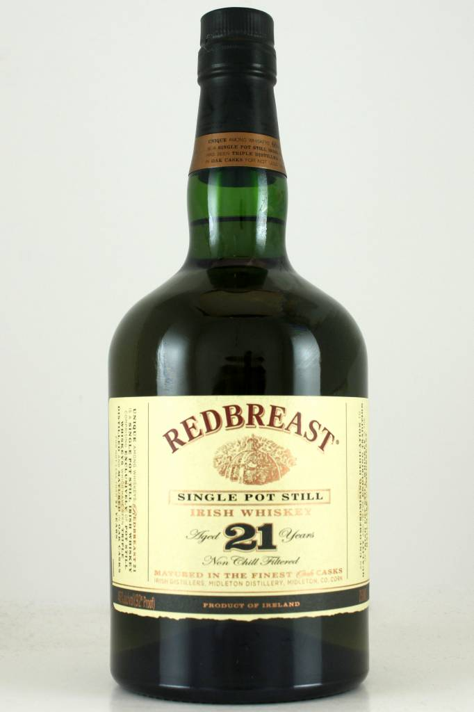 Redbreast Single Pot Still Irish Whiskey Aged 21 Year