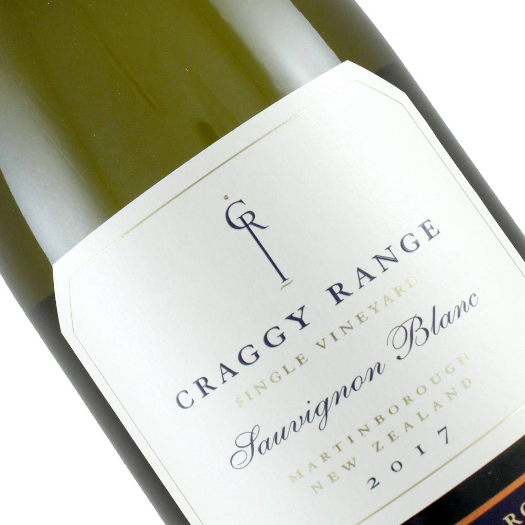 Craggy Range  2017 Sauvignon Blanc Marlborough, New Zealand