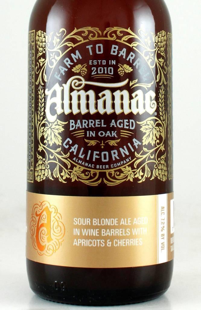 "Almanac Beer Company ""Valley Of The Hearts Delight"" Sour"