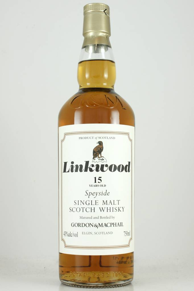 Gordon & MacPhail 15 Year Linkwood Speyside Single Malt Scotch Whisky,