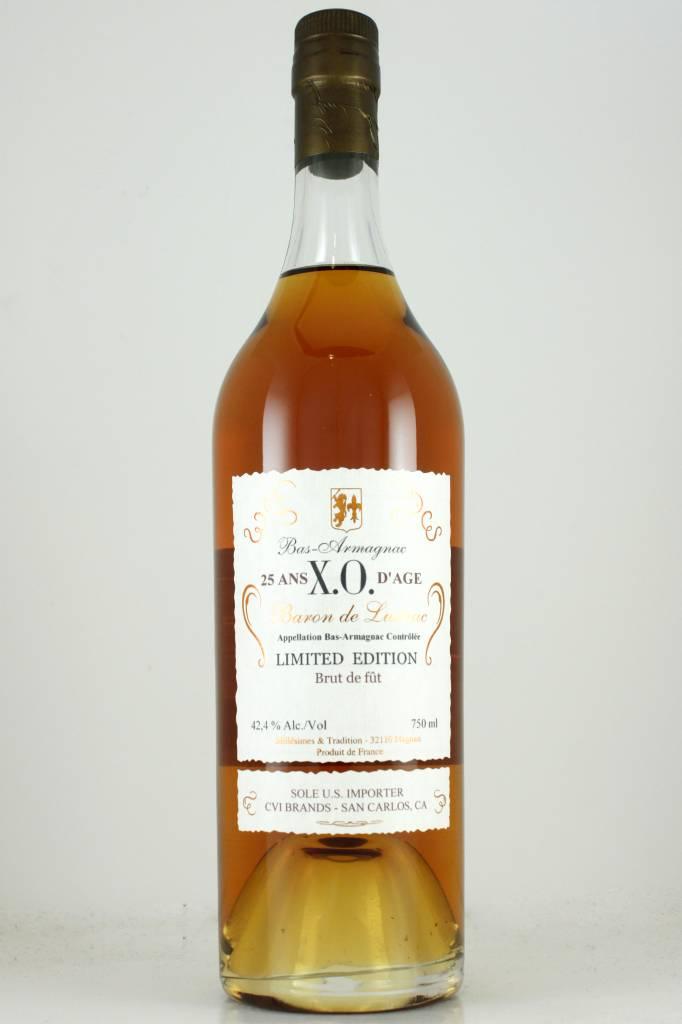 Lustrac X. O. Bas-Armagnac Aged 25 Years