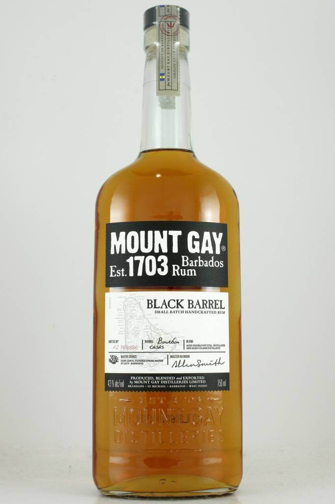 Mount Gay Black Barrel Rum, Barbados