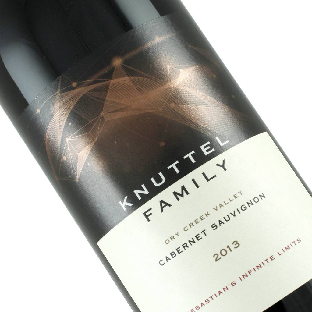 "Knuttel Family 2013 Cabernet Sauvignon ""Sebastion's Infinite LImits"" Dry Creek Valley, California"
