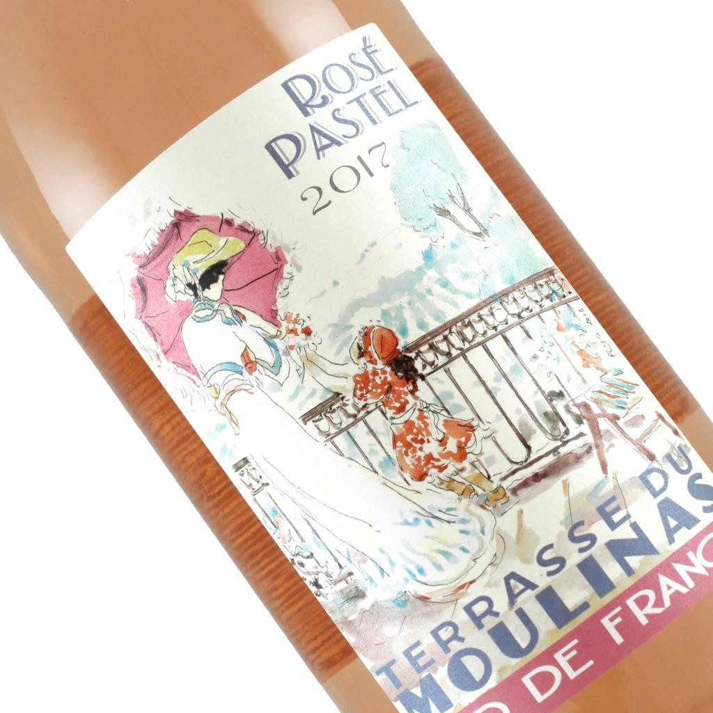 Terrasse Du Moulinas 2017 Rose Pastel, Languedoc, France - 1 Liter