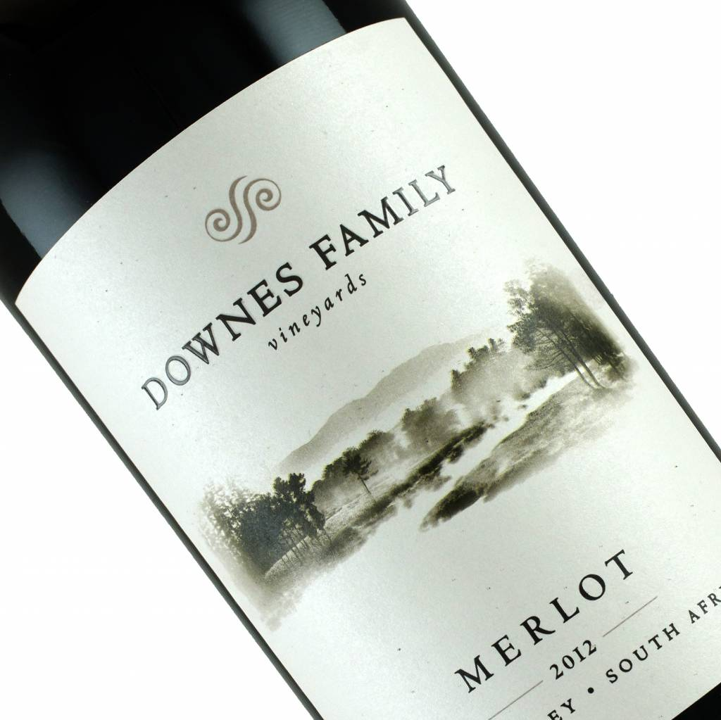 Downes Family Vineyards 2012 Merlot, Elgin Valley, South Africa