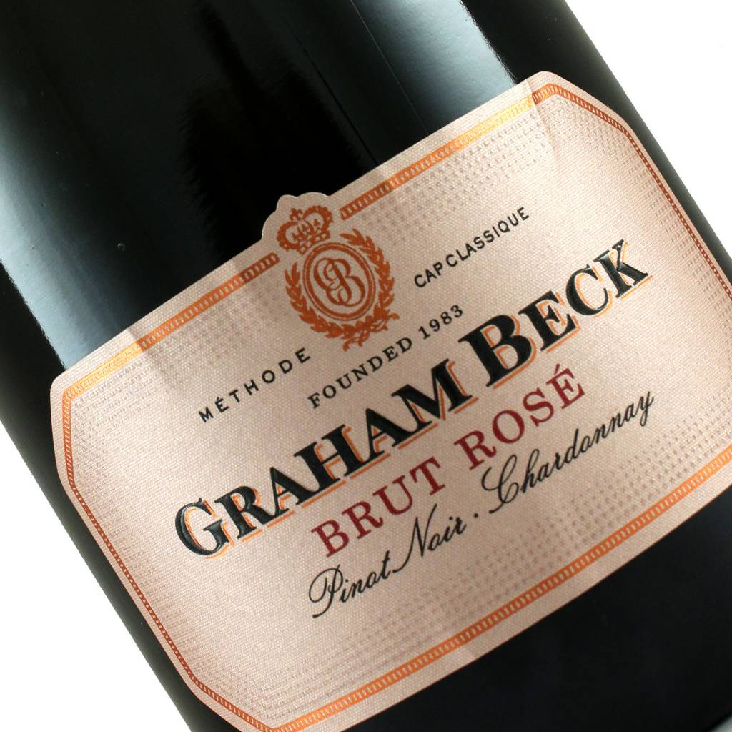 Graham Beck N.V. Brut Rose Sparkling Wine, South Africa