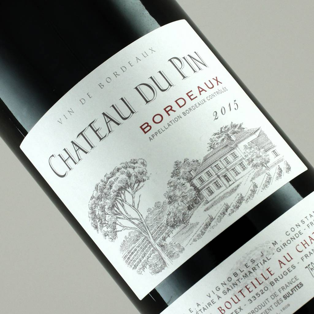 Chateau du Pin 2015 Bordeaux