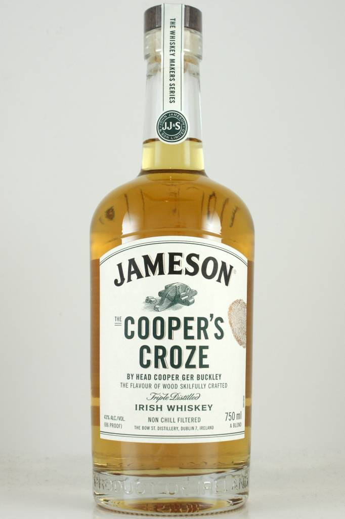 Jameson Irish Whiskey Cooper's Croze