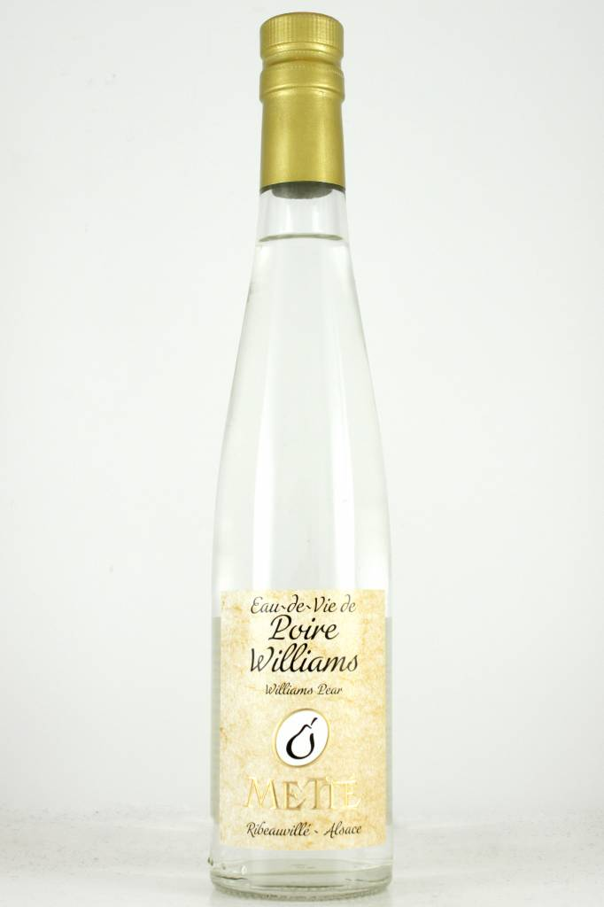 Mette Poire Williams Eau-de-Vie de, Ribeauville, Alsace - Half Bottle