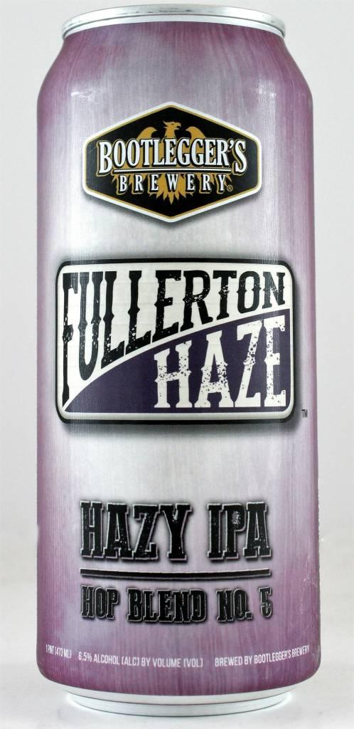 "Bootlegger's Brewery ""Fullerton Haze"" IPA"